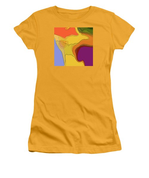 Terraced Women's T-Shirt (Athletic Fit)