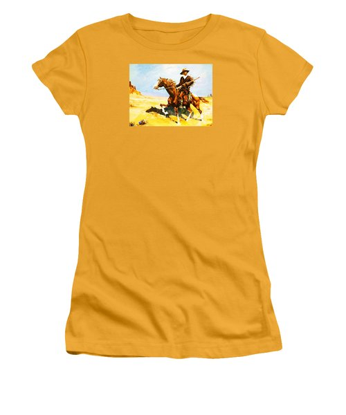 The Cavalry Scout Women's T-Shirt (Junior Cut) by Al Brown