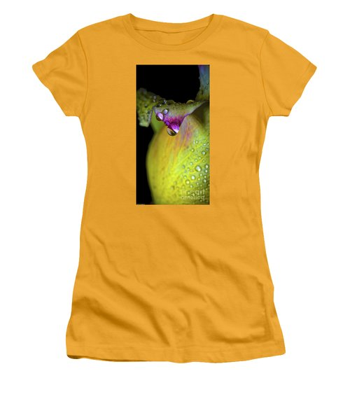 The Color Of Rain Women's T-Shirt (Junior Cut) by Mitch Shindelbower