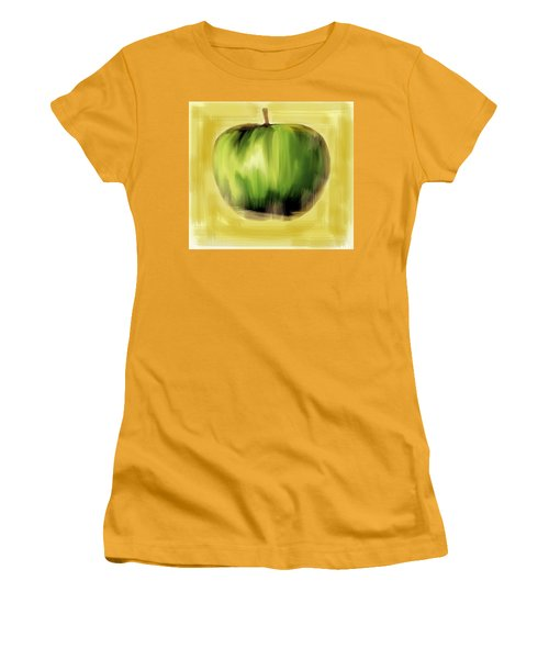The Creative Apple  Women's T-Shirt (Athletic Fit)