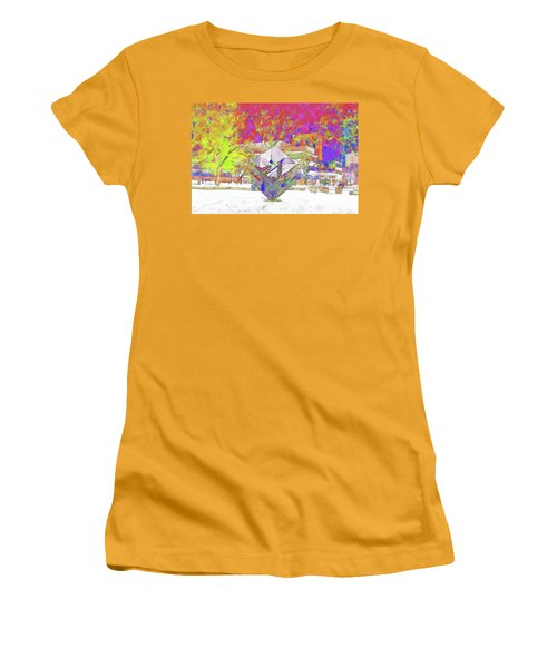 The Cube Women's T-Shirt (Athletic Fit)