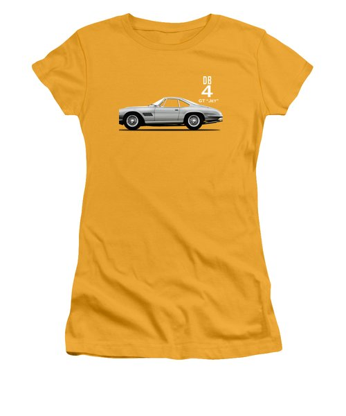 The Db4gt Jet Women's T-Shirt (Athletic Fit)