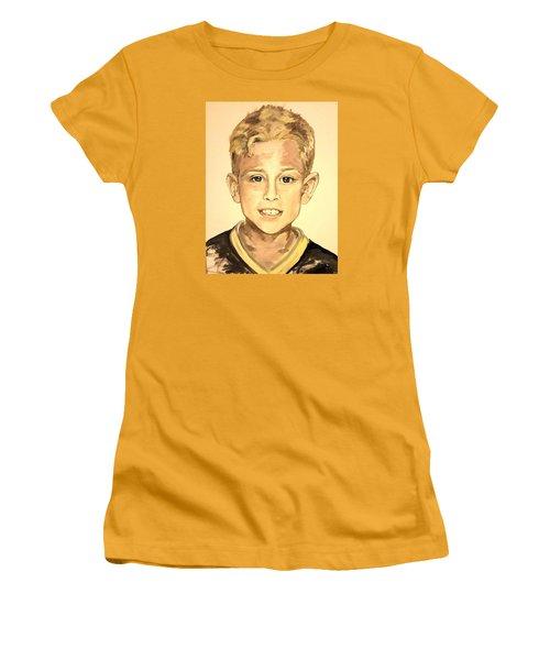 The Extrovert Women's T-Shirt (Junior Cut) by Alexandria Weaselwise Busen