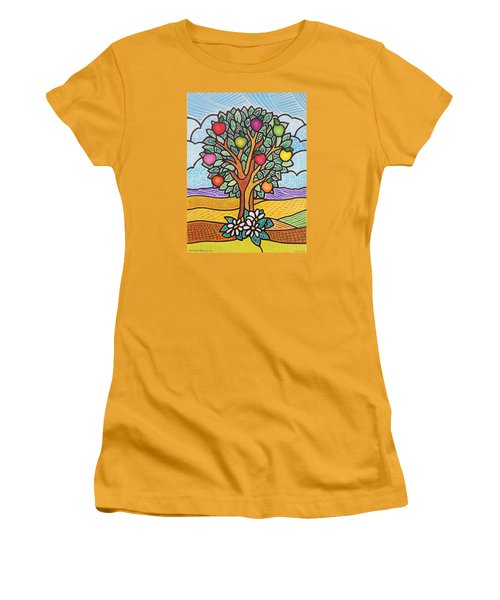 The Fruit Of The Spirit Tree Women's T-Shirt (Athletic Fit)