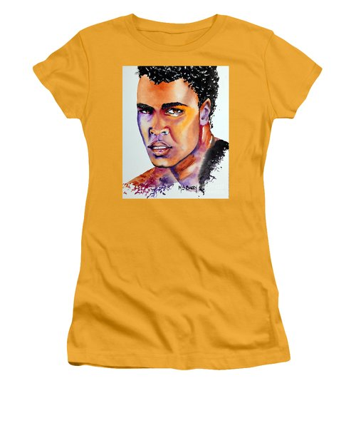 The Great Ali Women's T-Shirt (Junior Cut) by Maria Barry