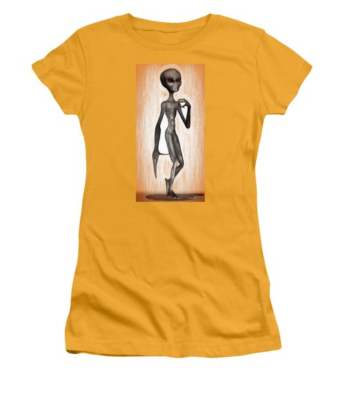 The Grey  Women's T-Shirt (Athletic Fit)