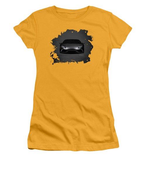 The Huracan Women's T-Shirt (Junior Cut) by Mark Rogan