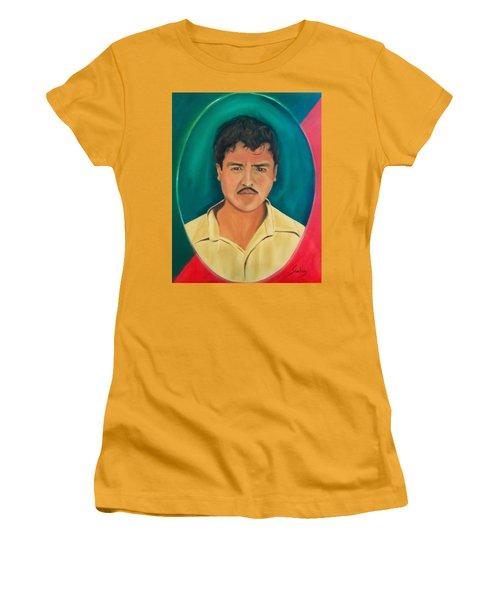 The Mexican Women's T-Shirt (Junior Cut) by Manuel Sanchez