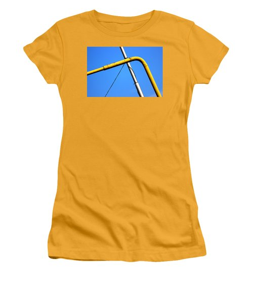 Women's T-Shirt (Junior Cut) featuring the photograph The Mile High Meetup  by Prakash Ghai