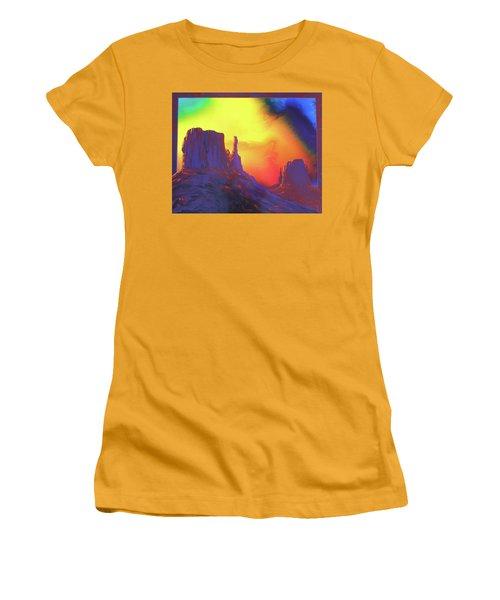 The Mittens , Psalm 19 Women's T-Shirt (Junior Cut) by Alan Johnson