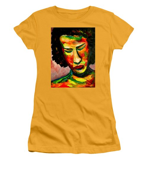 The Musician's Feelings Women's T-Shirt (Athletic Fit)