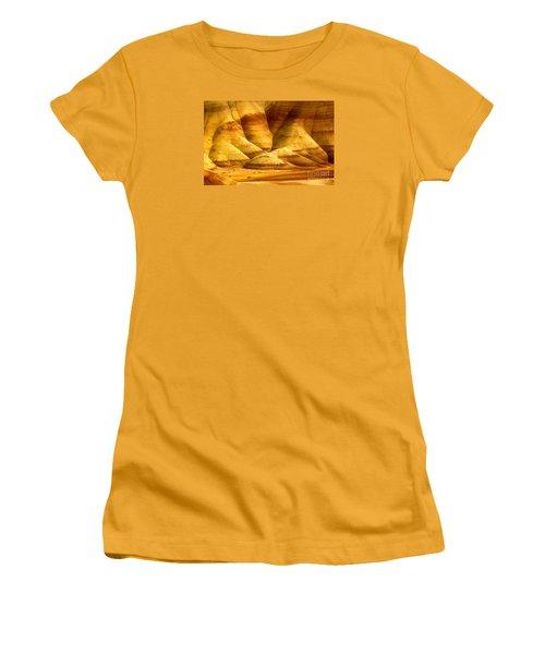 The Painted Hills Women's T-Shirt (Junior Cut) by Michael Cinnamond