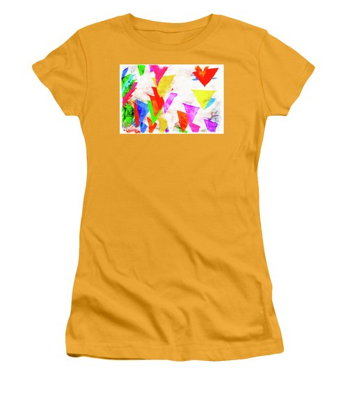 The Pennants At Mango Cafe Women's T-Shirt (Athletic Fit)