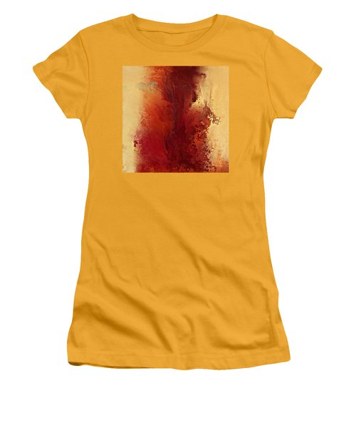 The Road To Emmaus. Luke 24 32 Women's T-Shirt (Junior Cut) by Mark Lawrence