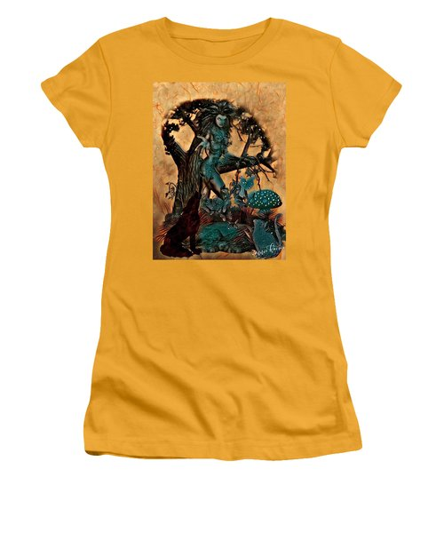 The Sacred Waters Women's T-Shirt (Athletic Fit)