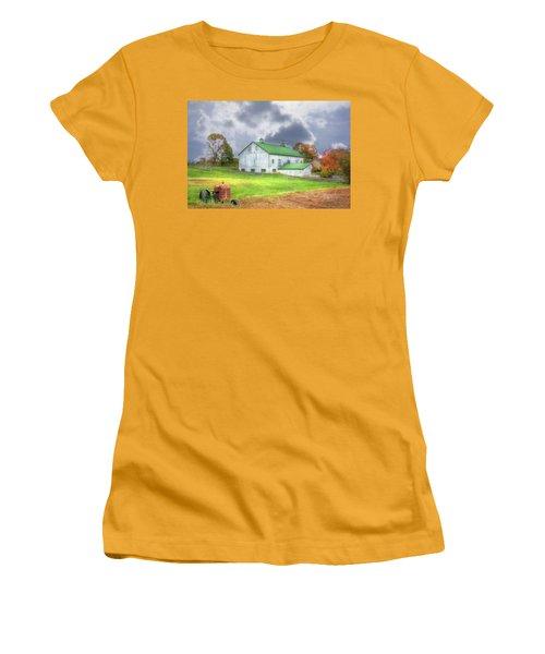 The Storms Coming Women's T-Shirt (Junior Cut) by Sharon Batdorf