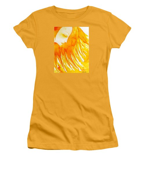 The Sun Goddess Women's T-Shirt (Athletic Fit)