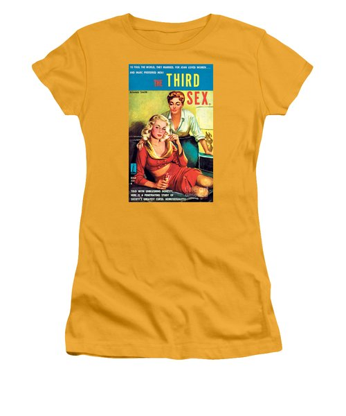 The Third Sex Women's T-Shirt (Junior Cut) by Robert Stanley