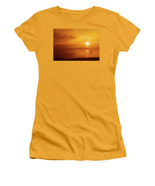 The Turning Tide Women's T-Shirt (Athletic Fit)