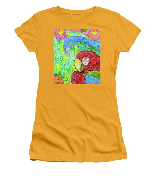 Three Amigos Women's T-Shirt (Junior Cut) by Susan D Moody