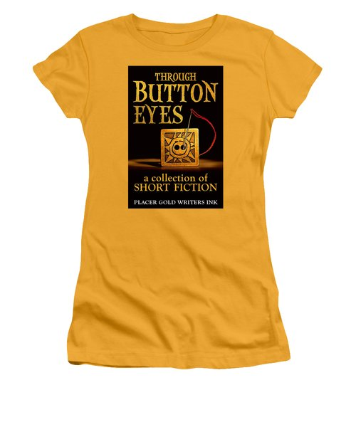 Through Button Eyes Women's T-Shirt (Athletic Fit)