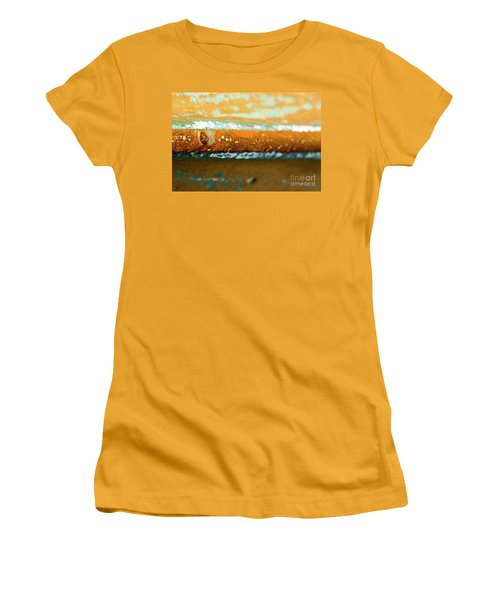 Women's T-Shirt (Athletic Fit) featuring the photograph Through The Centre by Wendy Wilton