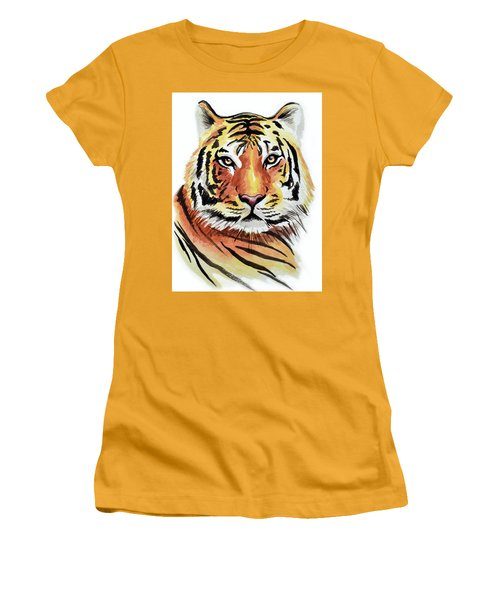 Tiger Love Women's T-Shirt (Athletic Fit)