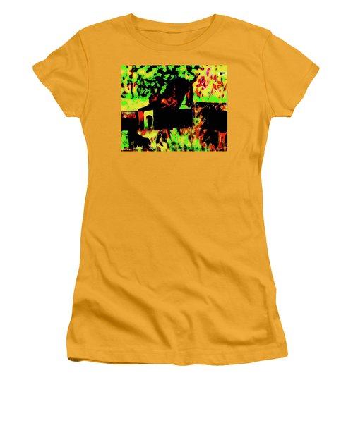 Time To Stretch Women's T-Shirt (Junior Cut) by Gina O'Brien