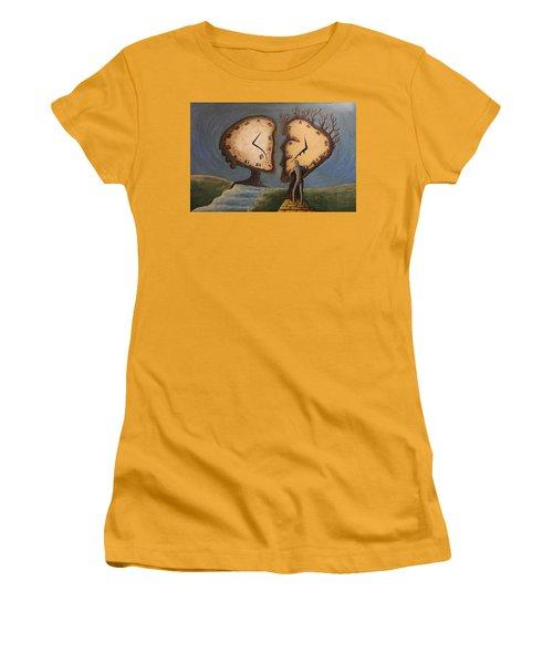 Time Travel 2016 Women's T-Shirt (Junior Cut) by Steve  Hester