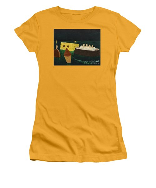 Titanic's Birthday Women's T-Shirt (Athletic Fit)