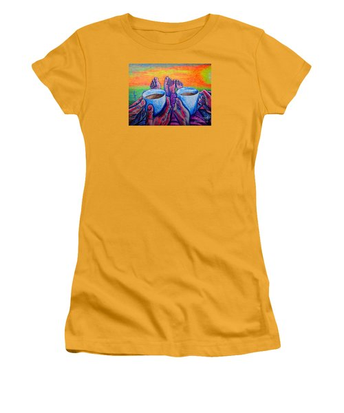 Together Women's T-Shirt (Junior Cut) by Viktor Lazarev