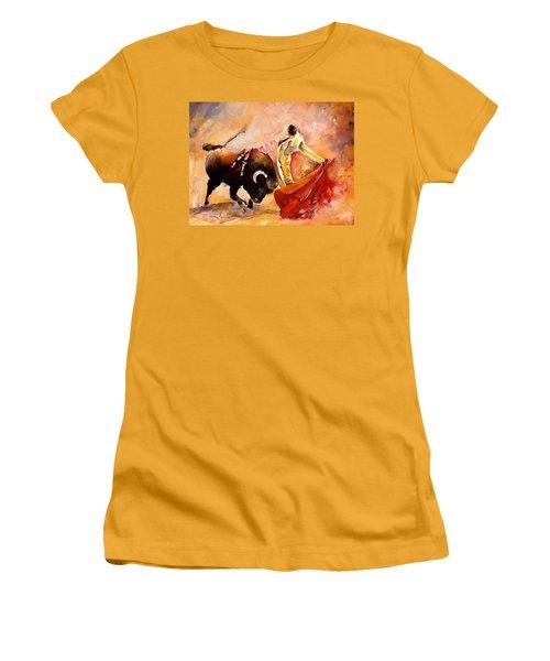 Toro Acuarela Women's T-Shirt (Athletic Fit)