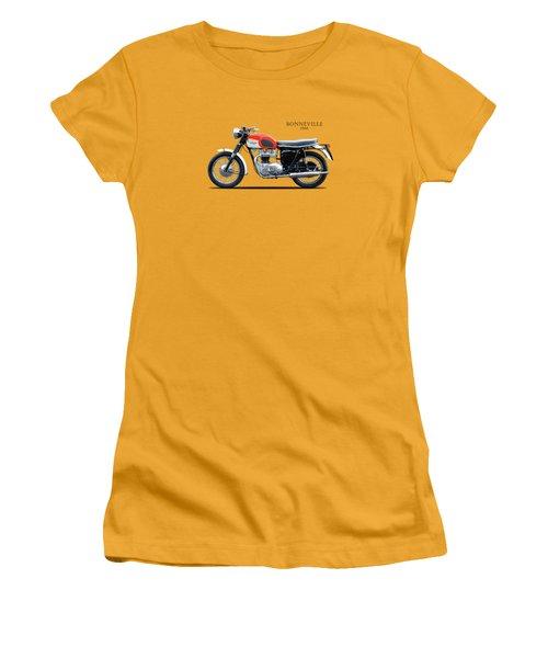 Triumph Bonneville 1966 Women's T-Shirt (Athletic Fit)