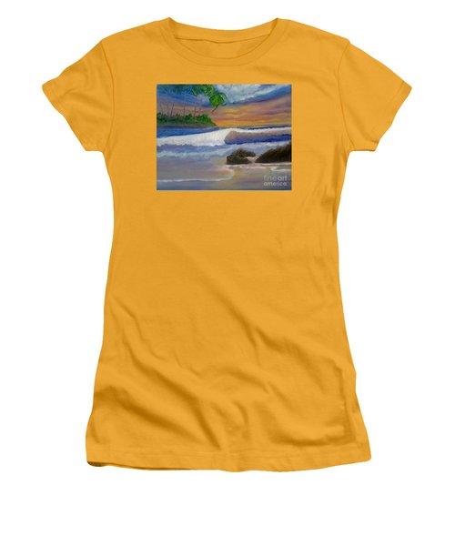 Tropical Dream Women's T-Shirt (Junior Cut) by Holly Martinson