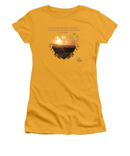 True Friends Women's T-Shirt (Athletic Fit)