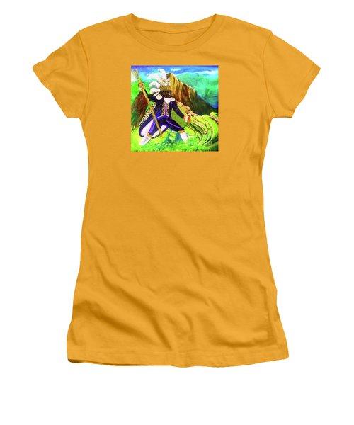 Tupac Amaru II Women's T-Shirt (Junior Cut) by Talisa Hartley