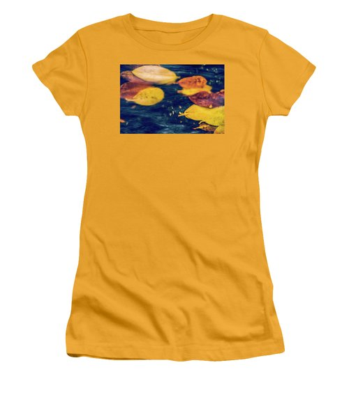 Underwater Colors Women's T-Shirt (Athletic Fit)