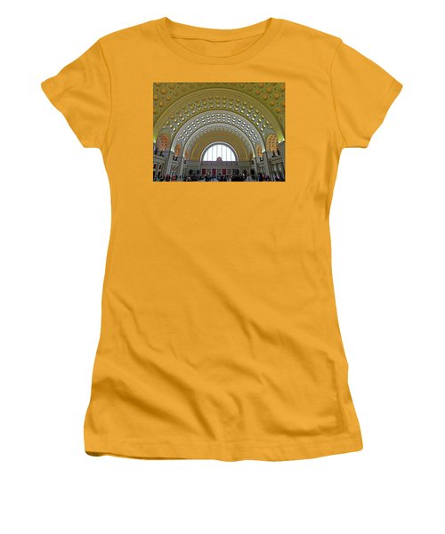 Union Station 12 Women's T-Shirt (Athletic Fit)