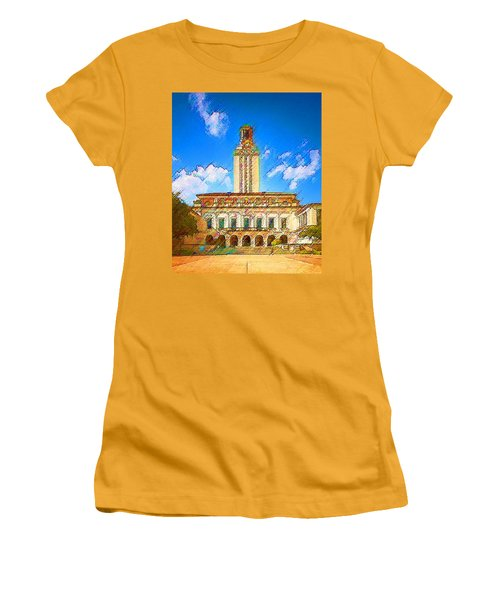 University Of Texas Women's T-Shirt (Athletic Fit)