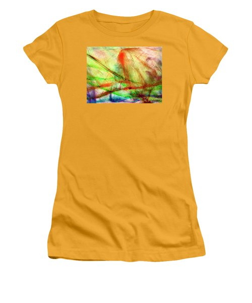 Untitled #140922, From The Soul Searching Series Women's T-Shirt (Athletic Fit)