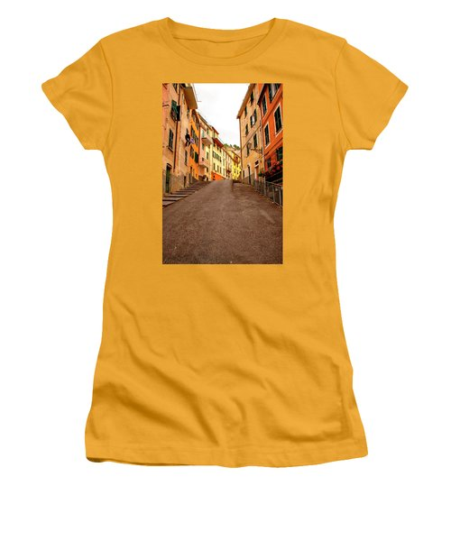 Uphill Italian Style Women's T-Shirt (Athletic Fit)