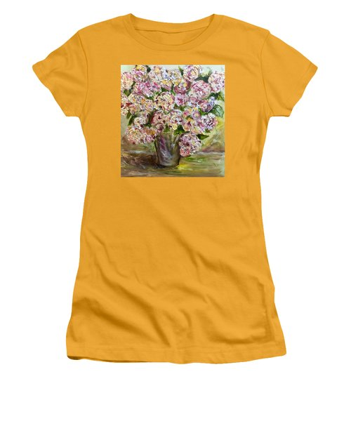 Vase Of Flowers Women's T-Shirt (Athletic Fit)