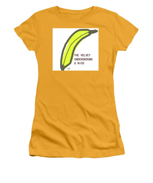 Velvet Underground Album Cover  Women's T-Shirt (Athletic Fit)