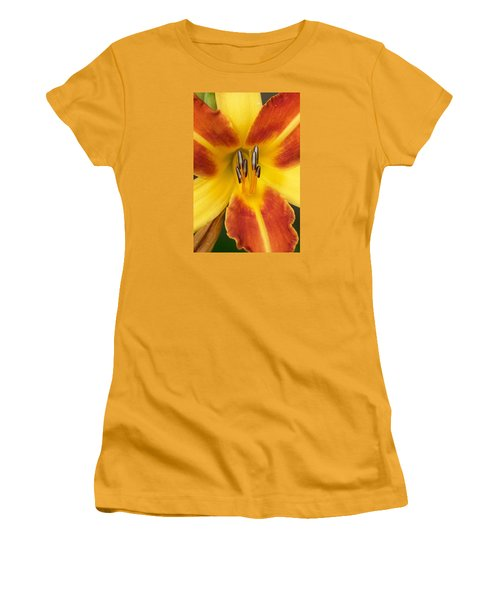 Vibrant Lilly Women's T-Shirt (Junior Cut) by Tiffany Erdman