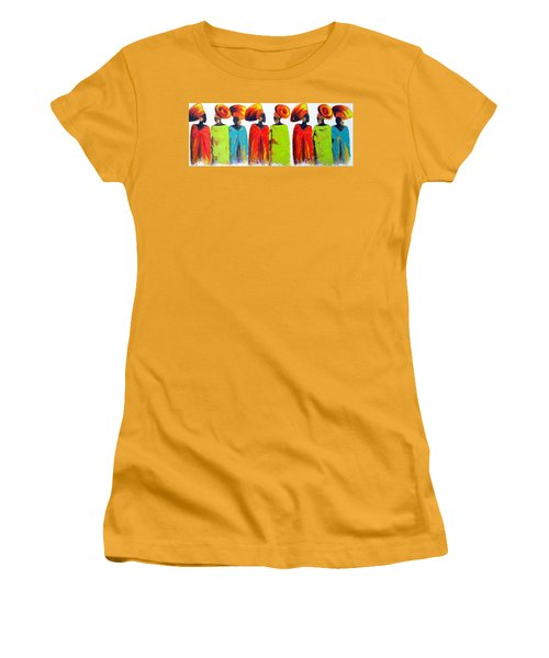 Village Talk Women's T-Shirt (Athletic Fit)