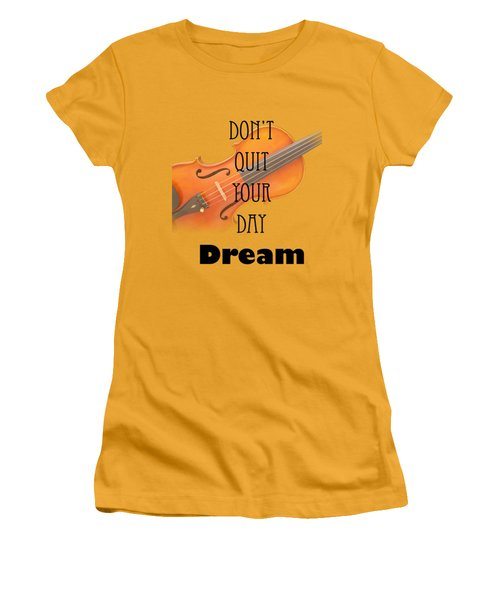 Violin Viola Fine Art Photographs Art Prints 5011.02 Women's T-Shirt (Junior Cut) by M K  Miller