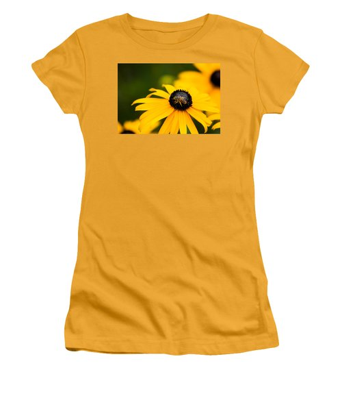 Visitor In The Garden Women's T-Shirt (Junior Cut) by Shelby  Young