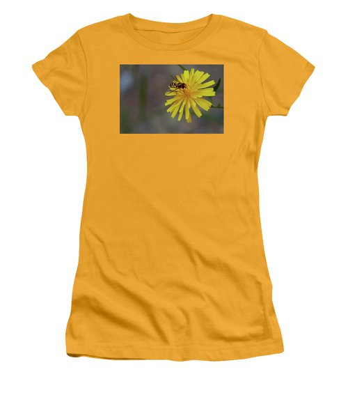 Visitor Women's T-Shirt (Junior Cut) by Scott Holmes
