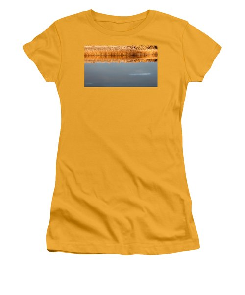 Women's T-Shirt (Junior Cut) featuring the photograph Warm Afternoon Glow by Monte Stevens