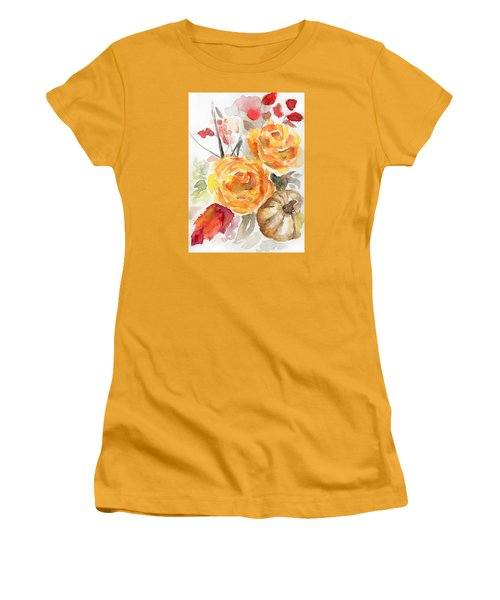 Warm Autumn Women's T-Shirt (Junior Cut) by Arleana Holtzmann